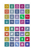 Technical icons set — Stock Vector