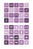 Home icons set — Stock Vector