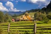 Natura piękne góry i wzgórza w lecie — Zdjęcie stockowe
