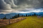 Mountain above the clouds — Fotografia Stock