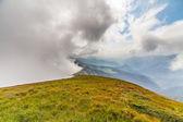 Misty dreamy landscape. — Stock Photo