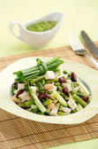 Red beans with chicken — Stock Photo