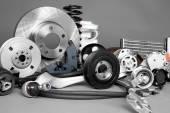 Auto parts — Stock Photo