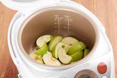 Cuisson tarte aux pommes — Photo