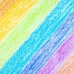 Pencil color rainbow background — Stock Photo #62530845