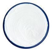 Closeup of a white beauty cream — Stockfoto