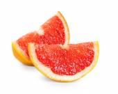 Fresh grapefruit slices — Stock Photo