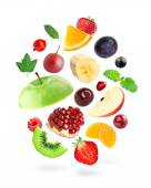 Fresh fruits and berries — Stock Photo