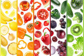 Fresh fruit and vegetable — Stock Photo