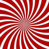 Red Hypnosis Spiral Pattern. Optical illusion. Vector — Stock Vector