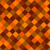 Orange and Red Colored Squares Seamless Background. Vector — Stock Vector