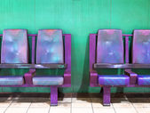 Empty waiting area chairs — Stock Photo