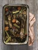 Rustic gravy ingredient — ストック写真