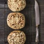 Rustic italian onion bread — Stock Photo #64444717