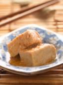Chili fermented bean curd tofu  — Stock Photo