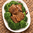 American chinese beef and broccoli — Stock Photo #71364727