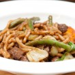 Sliced beef with udon noodle — Stock Photo #58753927