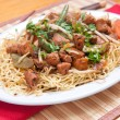 Chicken chow mien — Stock Photo #61392157