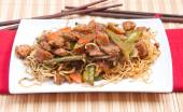 Chicken chow mien — Foto de Stock
