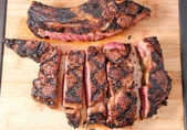 Bbq rib steak — Stock Photo