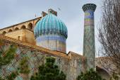 Ensemble der registan in samarkand — Stockfoto