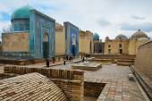 Shah-i-Zinda Ensemble in Samarkand — Stockfoto