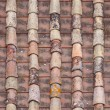 Seamless red old roof tiles repaired  texture — Stock Photo #61374173