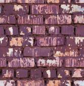 Seamless red colored brick wall texture — Stock Photo