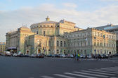St. Petersburg. The State Academic Mariinsky Theatre shined with — Stock Photo
