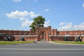 St. Petersburg. Military and historical museum of artillery, eng — Stock Photo