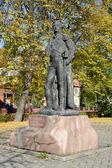 Памятник командующему m. я. kutuzov в Калининграде — Стоковое фото
