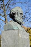 Karl Marx's bust in Kaliningrad — Stock Photo