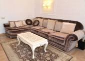 Furniture in a modern classical drawing room — 图库照片
