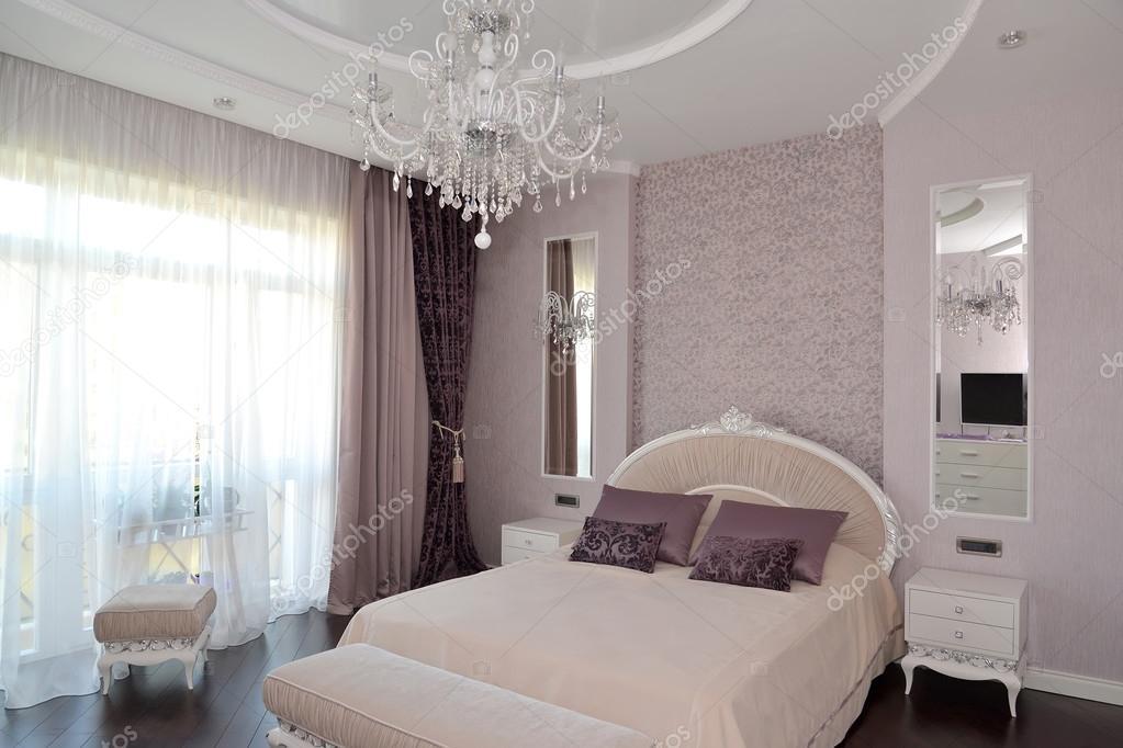 modernes schlafzimmer lila. Black Bedroom Furniture Sets. Home Design Ideas