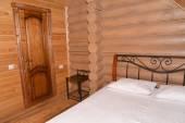 Ložnice v sauně toaletě — Stock fotografie