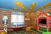 The children's game room in the center of rest, Kaliningrad — Stock Photo
