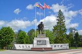 Gusiew, Rosja - 04 czerwca 2015: Wojskowych i Memoriał kompleks — Zdjęcie stockowe