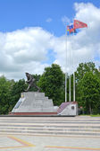 GUSEV, RUSSIA - JUNE 04, 2015: Memorial complex of history of Wo — Stock Photo