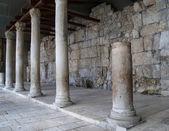 JERUSALEM, ISRAEL. Columns Jerusalem (Roman Kardo's remains) — Stock Photo
