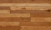 Wood texture of floor, oak parquet. — Stock Photo