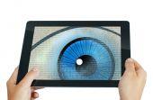 Spy eye program — Stock Photo