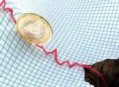 Euro crisis — Stock Photo