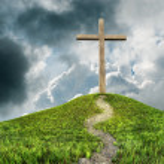Cross on hill — Stock Photo #59305209