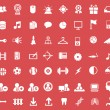 Set of icons for web and user interface design — Stock Vector #53461337