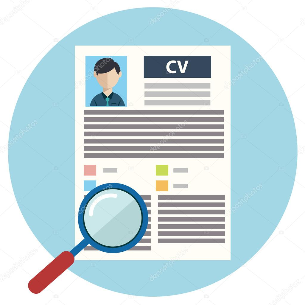 vector illustration concept of human resources management finding vector illustration concept of human resources management finding professional staff head hunter job employment issue and analyzing personnel