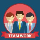 Business team, team work concept — Stockvector