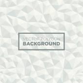 Vector Polygon Triangle Backgrounds seamless texture — Stock Vector