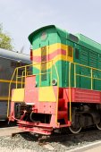 Rail road locomotive — 图库照片