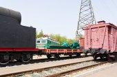 Rail road coach — Stock Photo
