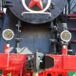 Rail road locomotive — Stock Photo #77008035